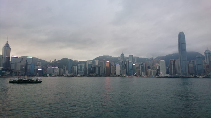 Skyline côté Hong Kong Island