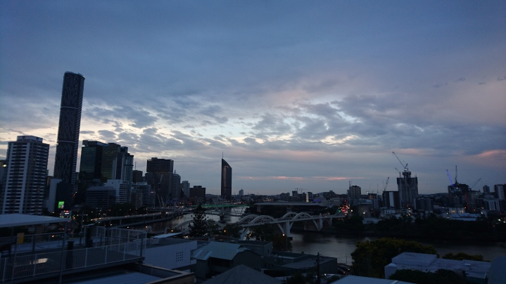Brisbane et la Brisbane river