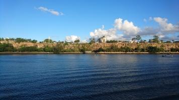 La Brisbane river au sud des Botanic Gardens