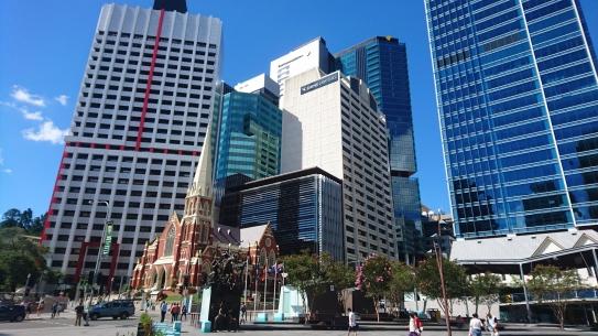 Mélange de genres dans la City, Brisbane