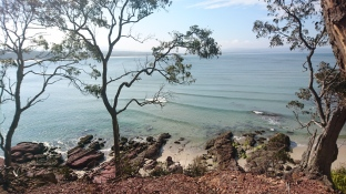 Barmouth beach, Ben Boyd National Park