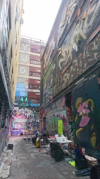 Street art, Hosier Lane, Melbourne