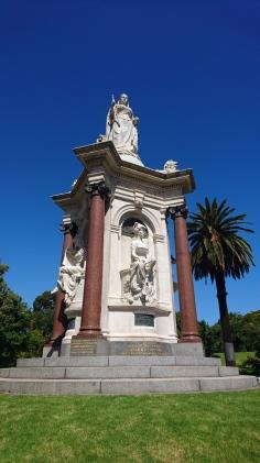 Statue de la reine Victoria, Royal Botanic Gardens, Melbourne