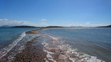 La pointe nord, le plus bel endroit de l'île, Quoin Island