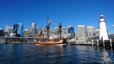 L'Endeavour, bateau de James Cook (réplique), Sydney