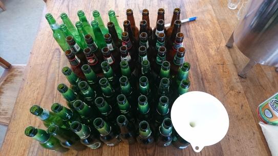 Mise en bouteille de la bière, Murrnong, Violet Town