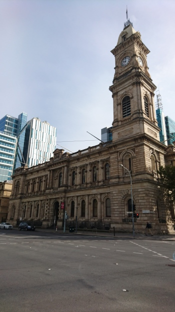 Poste centrale, Adelaide