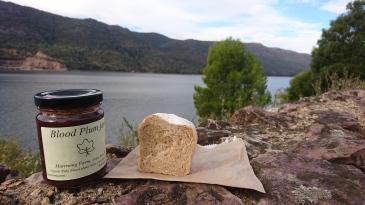 Le goûter parfait avec une belle vue. Lake Bellfield, Grampians National Park
