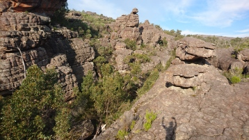 En haut du Grand Canyon, Grampians National Park