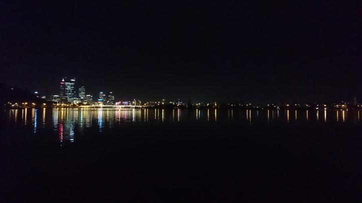 Arrivée à Perth