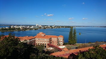 La Swan River depuis Kings Park, Perth