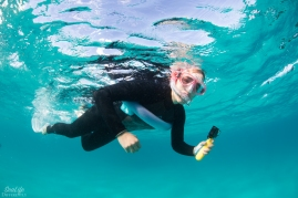 Snorkelling Ningaloo Reef. Copyright SeaLife Differently