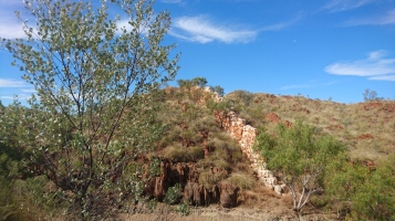 China Wall, Halls Creek, WA