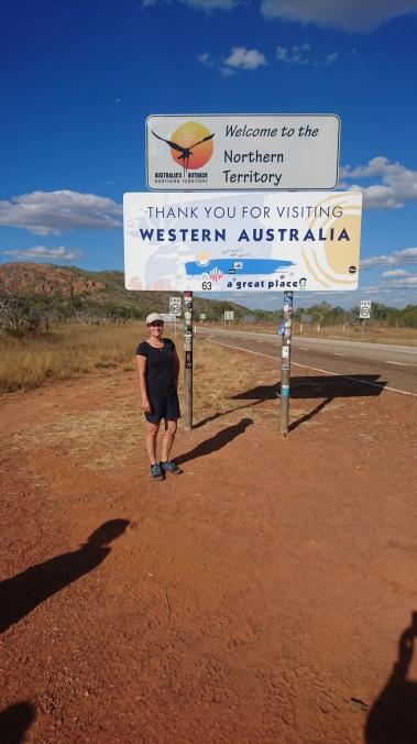 Frontière entre l'Australie occidentale et le Territoire du Nord
