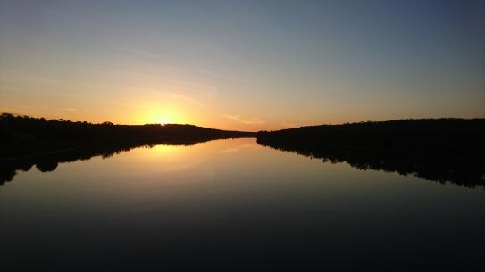 Depuis le Bradshaw bridge, NT