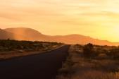 Coucher de soleil sur les montagnes du Karijini National Park, Pilbara