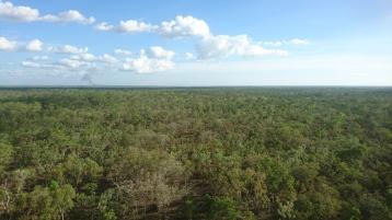 Litchfield National Park depuis l'hélicoptère