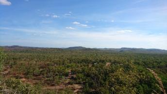 Kakadu National Park depuis le chemin des Gunlom Falls