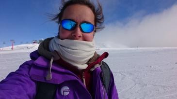 Et oui j'avais prémédité et emmené mes affaires de ski ! Mount Buller