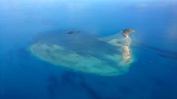 Une île de la Grande Barrière de Corail