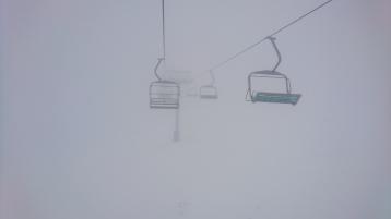 Cette fois, il était temps de rendre les skis... Mount Buller