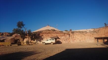 Une ancienne mine reconvertie en musée. Coober Pedy, SA