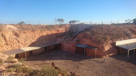 Habitations sous terre, Coober Pedy, SA