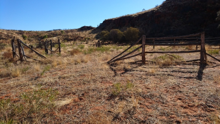 Ancien enclos de capture du bétail, Kings Canyon National Park
