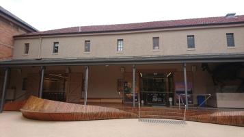 Ancien bâtiment reconverti en musée. Tasmanian Museum and Art Gallery, Hobart, Tas