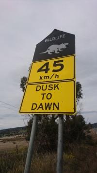 Entrée de la Tasman Peninsula, Tas