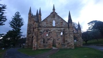 L'église, Port Arthur, Tas