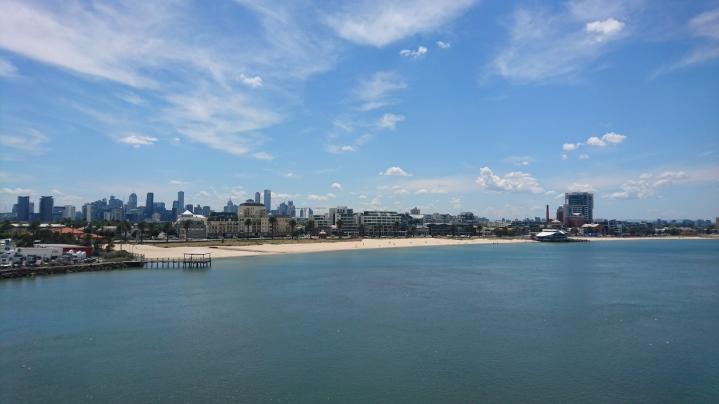 Retour à Melbourne
